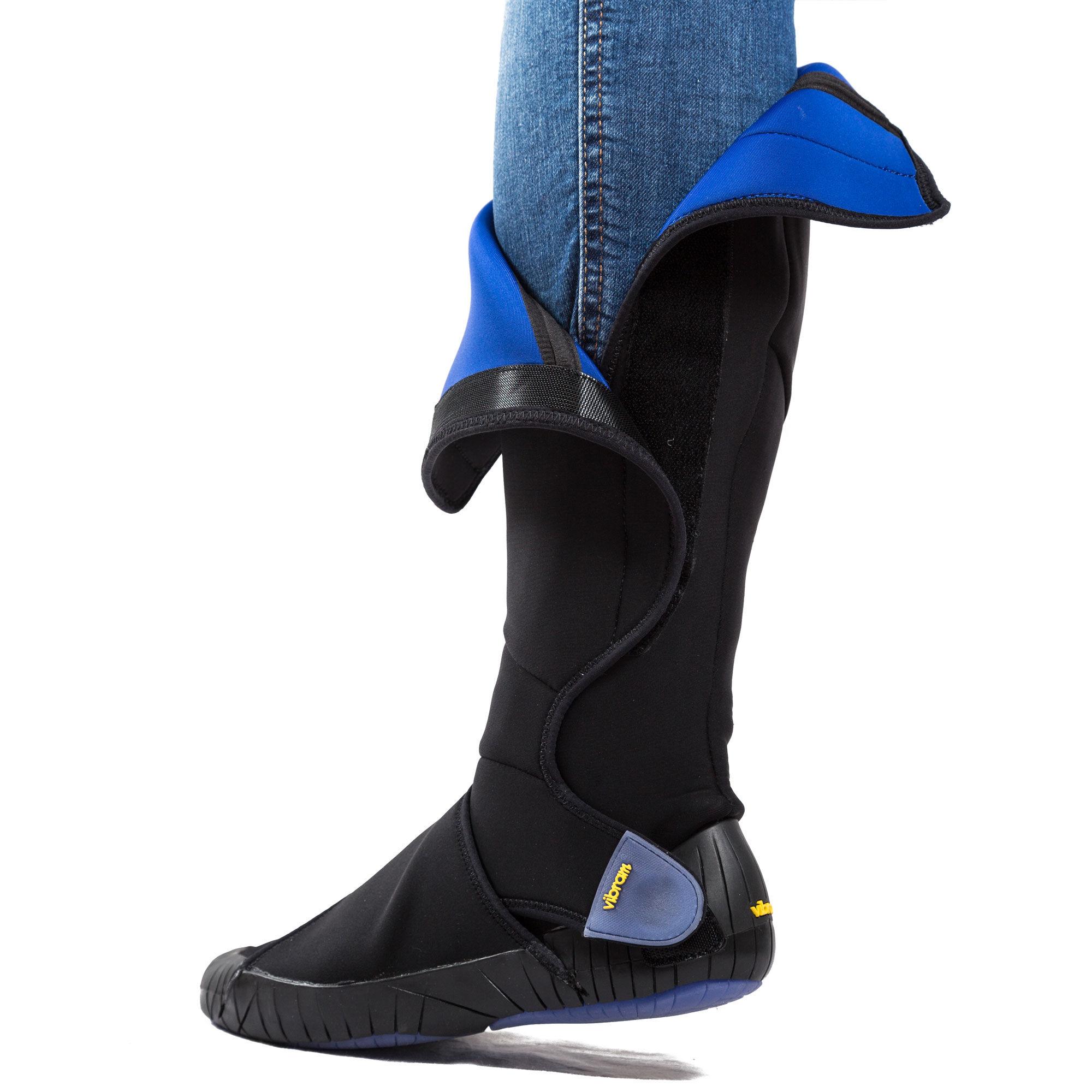 High Furoshiki Neoprene Boot   High Neoprene Wrap Boots